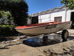 Bote Pescador Campanili Mod Maratón Dorado 80 + Trailer