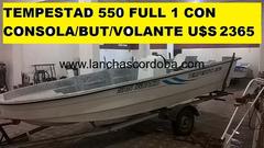 TEMPESTAD 550 DESDE U$S 1780 DOLARES