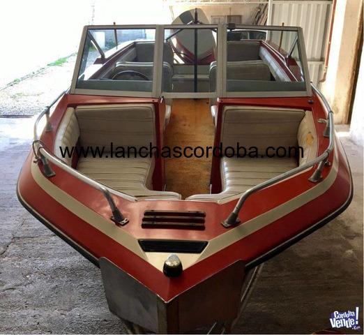 Lancha Caravana Motor Johnson 235