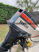 Lancha Yamaha con motor 40hp 2 tiempos