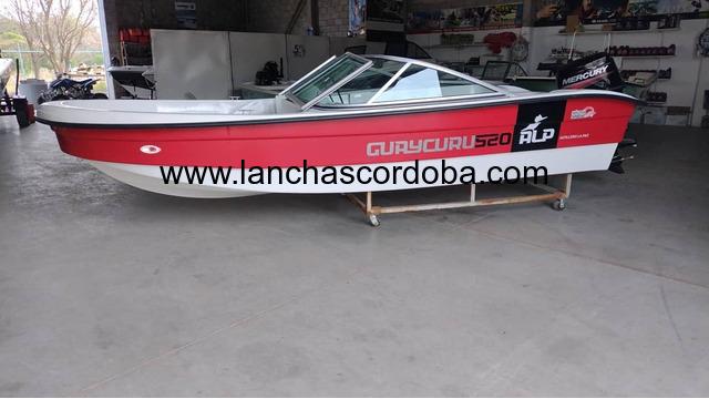Guaycuru 520 con Mercury 40 elo super.