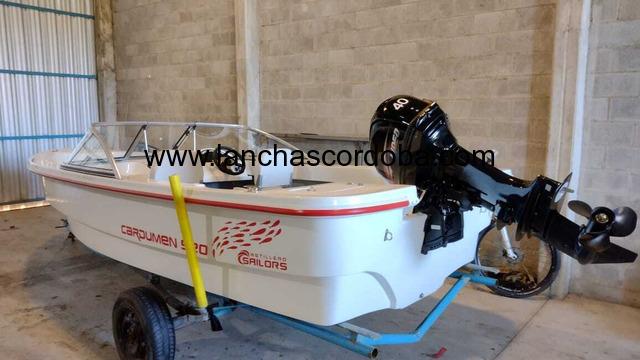 Cardumen 520 con motor Hidea 40