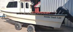 BAADER TRACK 700 CON MERCURY OPTIMAX 115